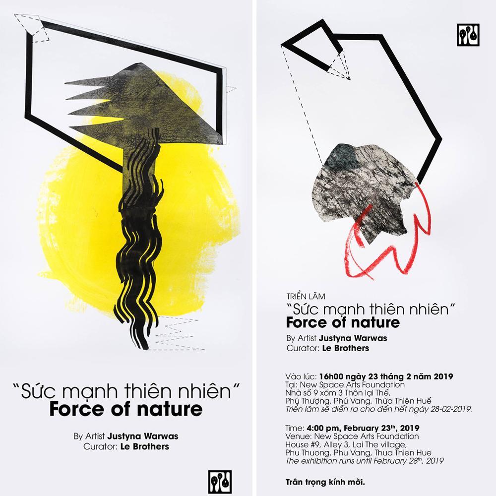 """Force of nature"" indywidualna wystawa, Hue, Wietnam"